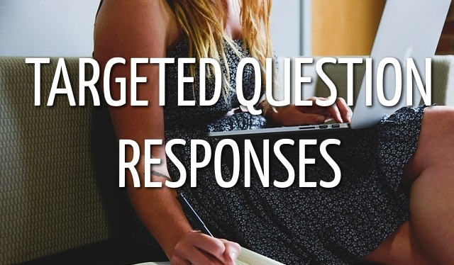 Targeted Question Responses Coffs Harbour